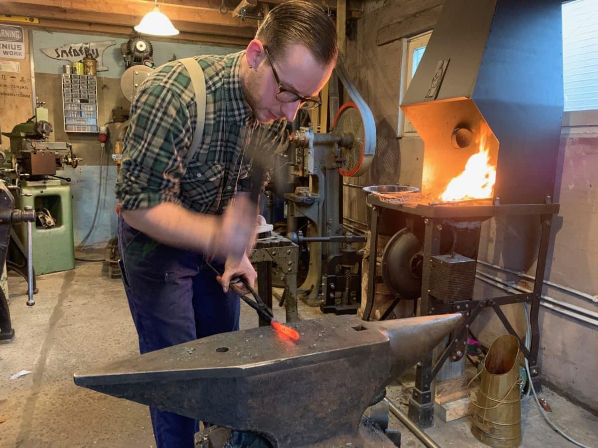 Yannick Jacobs, ornamental blacksmith