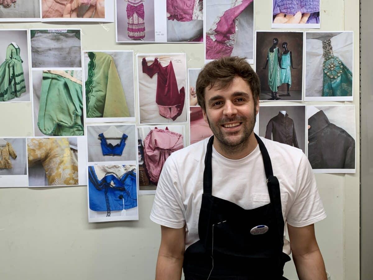 César Rodríguez Salinas, fashion & textile conservator